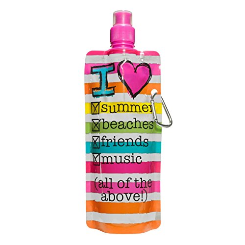 3C4G Cheers Summer Collapsible Bottle