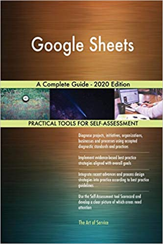Best Sheets 2020.Buy Google Sheets A Complete Guide 2020 Edition Book