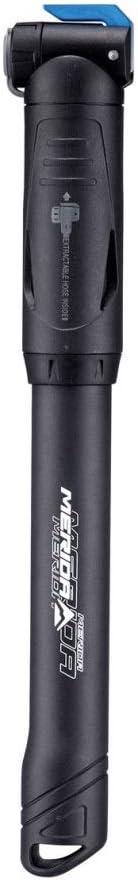 Ligera con fijaci/ón para Cuadro incluida Super-Resistente Palanca de Aluminio Merida Bikes Sistema practico y Sencillo Bomba con latiguillo Flexible Integrado