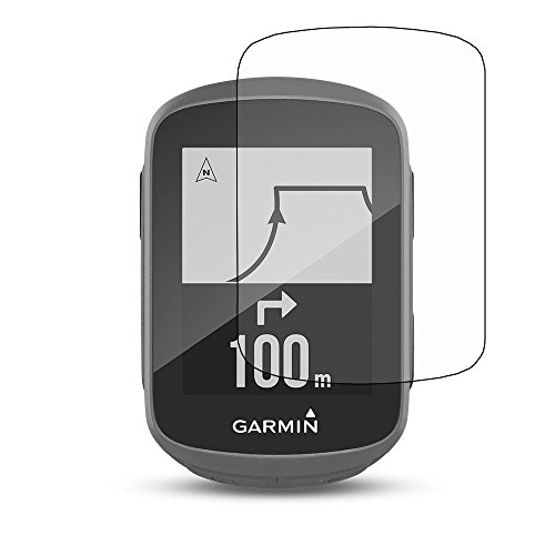 For Garmin Edge 130 Screen Protector - [2 PACK] Tempered Glass Frontier Protective Glass 9H Screen Protector Clear Cover