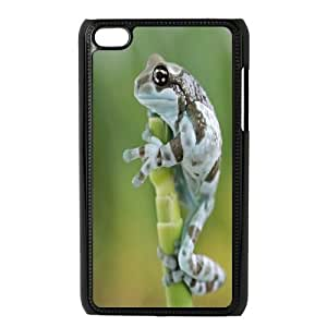 Best Quality [LILYALEX PHONE CASE] Frog Artwork FOR IPod Touch 4th CASE-19
