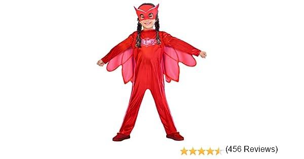 amscan - Disfraz de Owlette de PJ Masks - 9902949 - Color Rojo ...