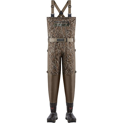 - Lacrosse Insulated Alpha Swampfox Drop Top Wader - Men's Mossy Oak Bottomland 11 Stout