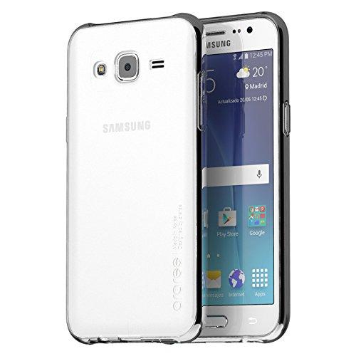 Galaxy J2 Case, araree [j Cover] Ultra Thin Slim Translucent Soft TPU Case Skin Cover for Samsung (2015) (CLEAR)