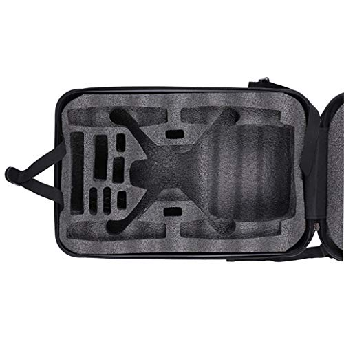 DDLmax Black ABS Hard Shell Backpack Case Bag for Hubsan H501S Quadcopter by DDLmax (Image #5)