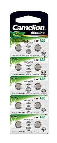 Heimwerker Camelion Ag5 Knopfzelle Uhrenbatterie Alkaline Camelion 9 Blister Akkus & Batterien