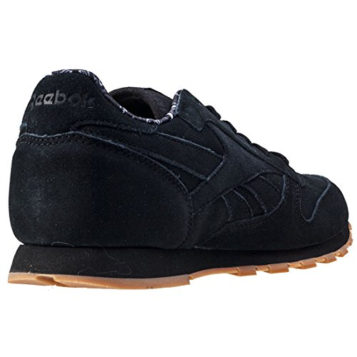 Reebok CL Bandana Pack, Sneakers Basses Mixte enfant Black Gum