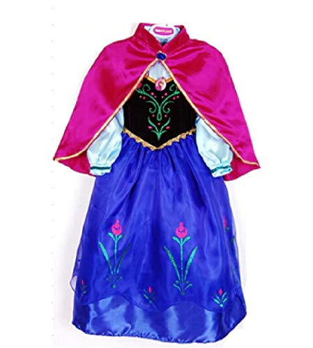 Frozen Heart Princess Gown w/Cape from Chunks of Charm (4T)