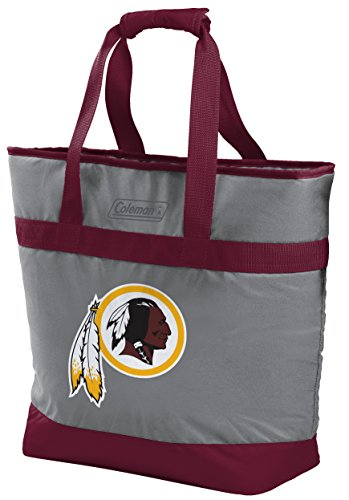 NFL Washington Redskins Unisex LP0757NFL 30 Can Tote Cooler, Red, Adult ()