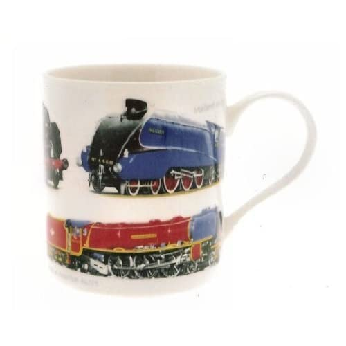 classic trains mug gift boxed