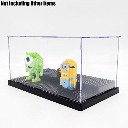 Odoria Clear Acrylic Self-Assembly Display Box Case 9.4