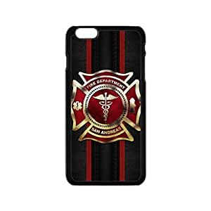 Generic Custom Unique Otterbox You Deserve--American Flag Firefighter Emblem in Flames Fire Rescue Symbol Plastic Case Cover for the iPhone6 plus 5.5inch