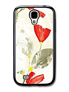 AMAF ? Accessories Flowers Vintage Style Floral case for Samsung Galaxy S4