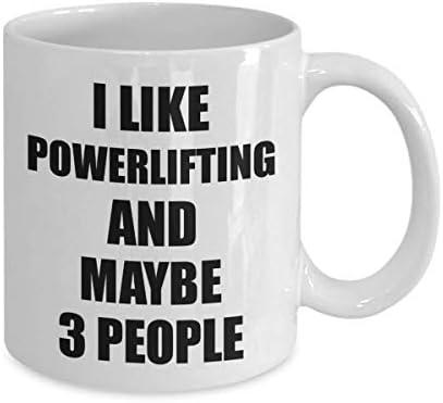IN MY HEAD I/'M POWER LIFTING Novelty//Funny Printed Coffee Mug Gift//Present 384