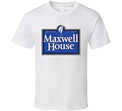 Maxwell House Coffee Logo T Shirt