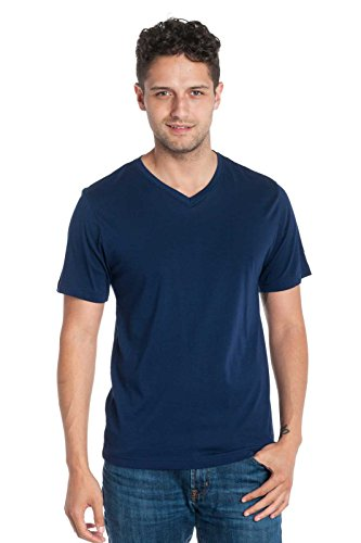 Ably Apparel Jamison Short Sleeve V-Neck T-Shirt | Repels Liquids, Stains, and Odors (X Large, ()