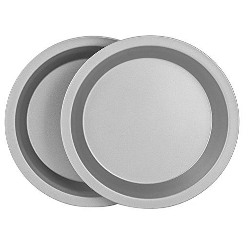 """OvenStuff Non-Stick 9"""" Pie Pans, Set of Two - American-Made, Non-Stick Pie Baking Pan Set, Easy to Clean by G & S Metal Products Company (Image #4)"""
