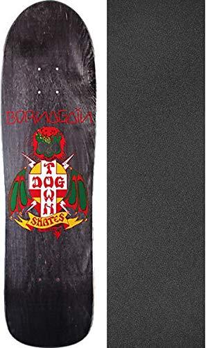 生態学良心的トライアスロンDogtownスケートボードBorn AgainプールブラックStainスケートボードデッキ – 8.75
