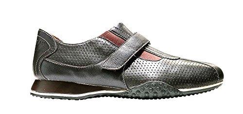 Cole Haan Mens Estadio Ii Dagdrivaren Mode Sneaker Brun Rem Skor Brun