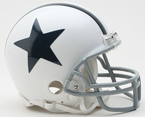 Dallas Cowboys White Official Replica Mini Helmet -