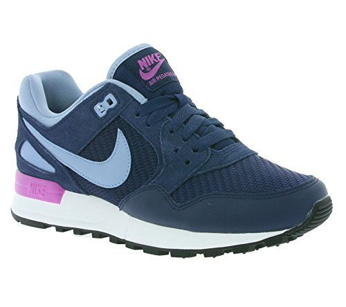 Nike 844888-402 - Zapatillas de deporte Mujer Azul (Midnight Navy / Blue Grey-Summit White)