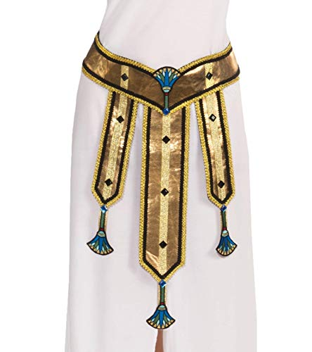 Forum Novelties Women's Deluxe Female Egyptian Costume Belt, Multi Colored, One -