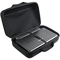 Adada Hard Travel Case Canon PIXMA iP110 Wireless Mobile Printer Battery Attached