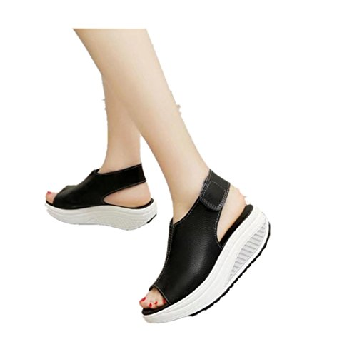 Fheaven Women Shake Non-Slip Shoes Summer Sandals Thick B...