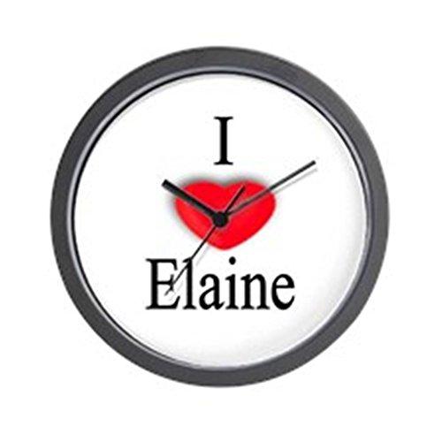 CafePress - Elaine Wall Clock - Unique Decorative 10