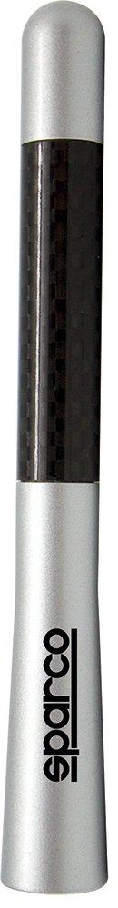 Argento//Carbonio Sparco SPC1419 Antenna