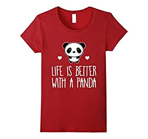 Life Is Better With A Panda Animal True Heart Hot T-Shirt