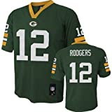 Outerstuff Aaron Rodgers Green Bay Packers Infant Green Jersey