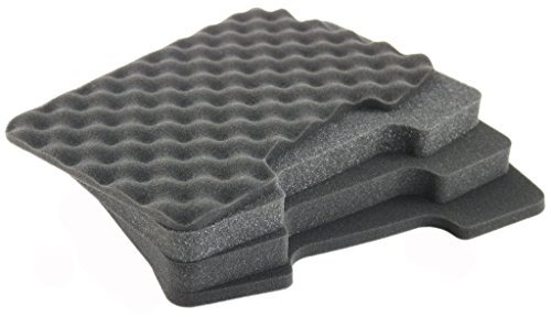 Four Piece Customizable Foam Set for 12 in Life Made Better Cases. Comes with Two Lining Foam and Two Thick Diced Foam