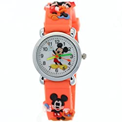 TimerMall Fashion Micky Mouse Red Digital Funny Watches