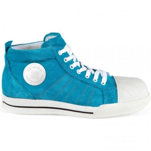 Sneaker Blau Blau S1P Blue Sicherheitshalbstiefel 2work4 37 dqfSd