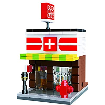 Exclusive Mini City - Neighborhood Urgent Care and Pharmacy - Custom Design Bricks - Compatible with All Major Brands: Toys & Games