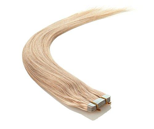 Echthaar Tape On / In Extensions Haarverlängerung 40cm 10 Tressen
