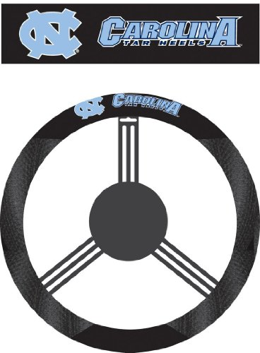 NCAA North Carolina Tar Heels Poly-Suede Steering Wheel - Outlet Carolina Malls North