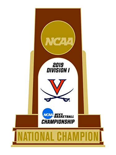 (WinCraft Virginia Cavaliers 2019 NCAA Basketball National Champions Trophy Lapel Pin)