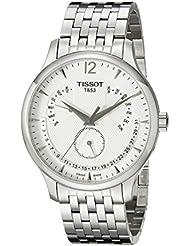 Tissot Mens T0636371103700 Tradition Analog Display Swiss Quartz Silver Watch