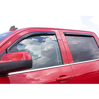 Auto Ventshade 194252 In-Channel Ventvisor Side Window Deflector, 4-Piece Set for 2011-2020 Jeep Grand Cherokee: Automotive