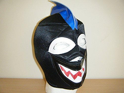 WRESTLING MASKS UK Men's Shark Style Head Fancy Dress Costume Mask Wrestling One Size Multicoloured -