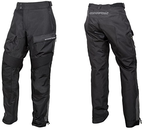 Scorpion EXO Men's Seattle Waterproof Black Overpants, L