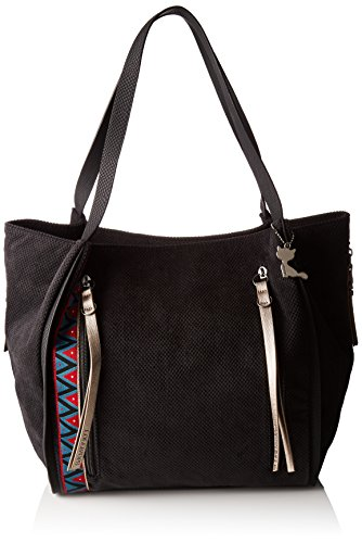 Women's Bucket LOLLIPOPS Black Animal LOLLIPOPS Women's Shoulder Shopper Bag wIEqxg