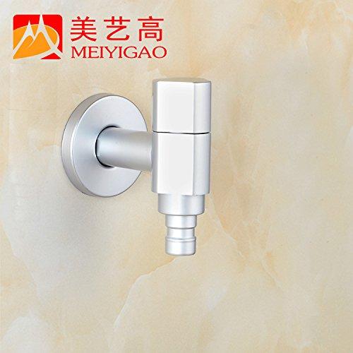 Furesnts Modern home kitchen and Bathroom Sink Taps Space Aluminum Washing Machine Taps Bathroom Sink Taps,(Standard G 1/2 universal hose ports)