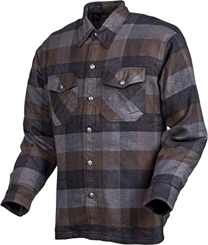 Scorpion Covert Flannel Shirt (XXX-Large) (Black/Brown/Grey)