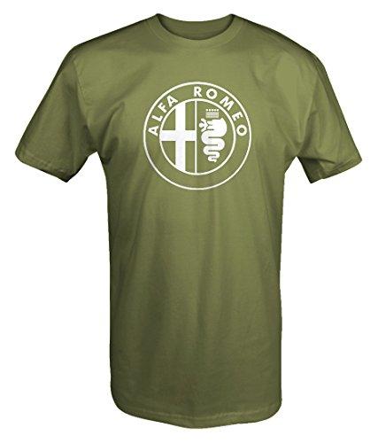 (Alfa Romeo Circle Euro T shirt - Xlarge)