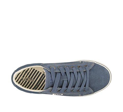Taos Women's Retro Star Blue Suede 9.5 B (M) US by Taos Footwear (Image #4)