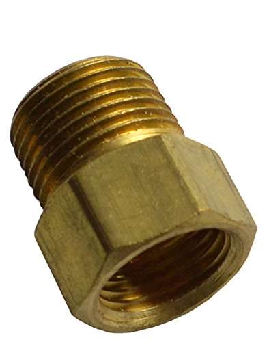 le 5/8-18 Inverted Flare Brass Adapter Transmission Line Brake Lines (E-10-12) (Transmission Brake)