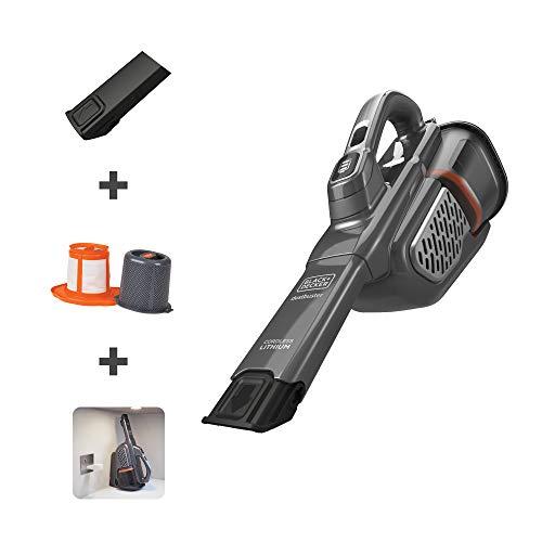 BLACK DECKER Dusbuster Handheld Vacuum, Cordless, Gray HHVK415B01